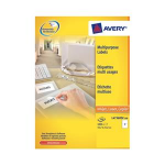 Avery L4736REV-25 White printer label