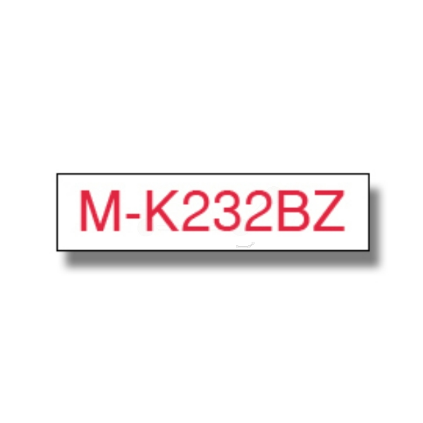 Brother MK-232BZ P-Touch Ribbon, 12mm x 8m