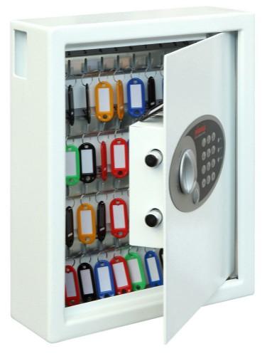 Phoenix Cygnus KS0032E key cabinet/organizer Metal White