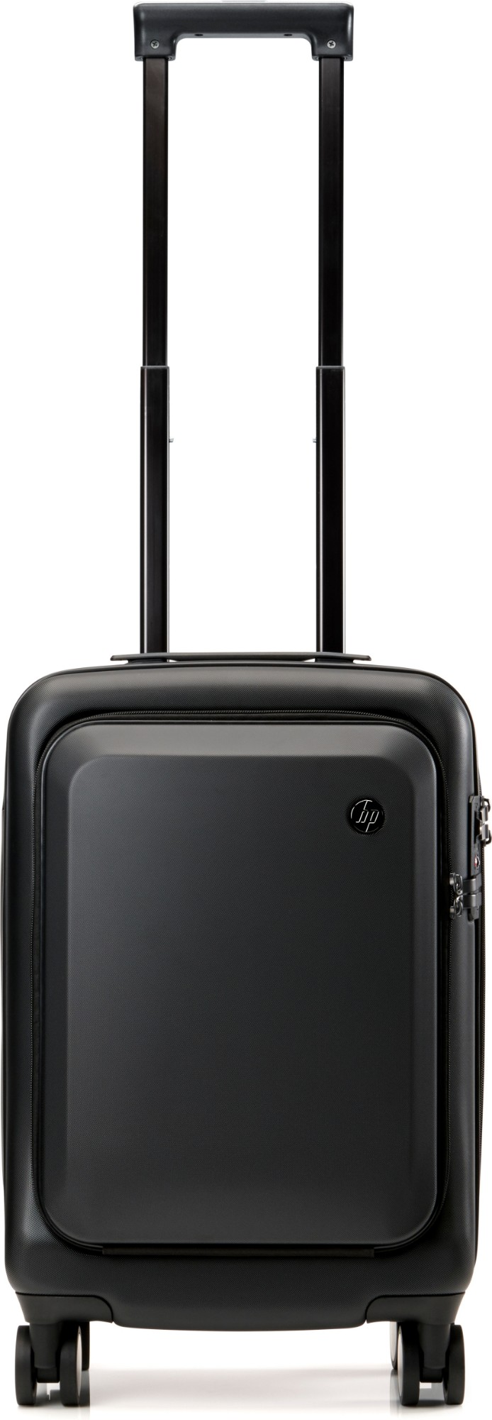 HP All in One Carry On Luggage Trolley Black Acrylonitrile butadiene styrene ABS,Polycarbonate