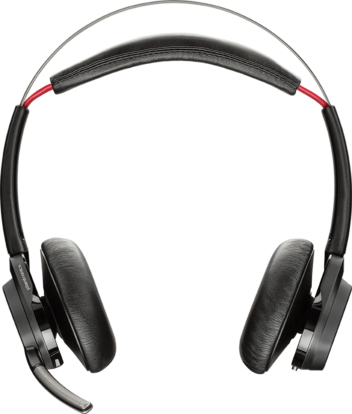 Plantronics Voyager Focus UC B825 Binaural Head-band Black