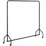 FSMISC GARMENT RAIL BLACK 311416