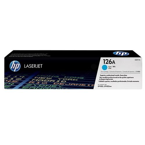 HP CP1025 Series cyan toner 126A - CE311A