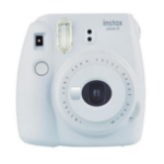 Fujifilm Instax Mini 9 62 x 46mm White instant print camera