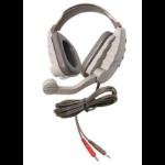 Ergoguys Califone DS-8V Beige,Grey Circumaural Head-band headphone