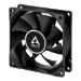 ARCTIC F8 Silent 8cm Case Fan Black 9 Blades Fluid Dynamic 6 Year Warranty