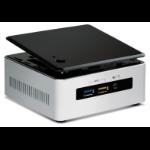 Intel NUC5i5RYH BGA 1168 1.6GHz i5-5250U UCFF Black,Silver