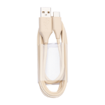 Jabra 14208-33 USB cable 1.2 m USB A USB C Beige
