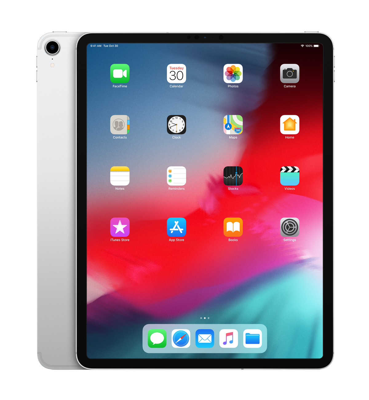 iPad Pro 2018 - 12.9in - Wi-Fi + Cellular - 1TB - Silver