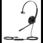 Yealink UH34 MONO TEAMS headphones/headset Head-band USB Type-A Black