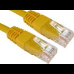 Target ERT-600 networking cable 0.5 m Cat6 U/UTP (UTP) Yellow