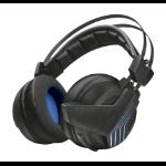 Trust GXT 393 Magna Headset Head-band Black, Blue 22796