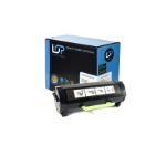Click, Save & Print Remanufactured Lexmark 62D2X0E Black Toner Cartridge