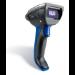 Intermec SR61BHP-002 Handheld bar code reader 1D/2D Black, Blue barcode reader