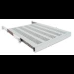 "Intellinet 19"" Sliding Shelf, 1U, 800 to 1000mm Depth, shelf depth 550mm, Grey"