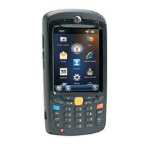 "Zebra MC55X handheld mobile computer 8.89 cm (3.5"") 320 x 240 pixels Touchscreen 365 g Black"