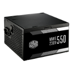 Cooler Master ER MWE 550W GOLD MODULAR, FULLY MODULAR CABLE DESIGN, 80 PLUS GOLD, COMPACT SIZE