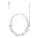 Apple 1m USB A/Lightning 1m USB A Lightning White mobile phone cable