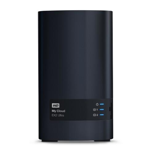 Western Digital My Cloud EX2 Ultra Ethernet LAN Desktop Black NAS