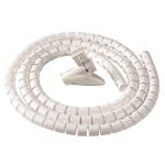 Fellowes CableZip Floor Cable flex tube White