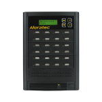 Aleratec 330121 media duplicator USB flash drive/USB hard drive duplicator 23 copies Black
