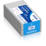 Epson SJIC22P(C): Ink cartridge for ColorWorks C3500 (Cyan)