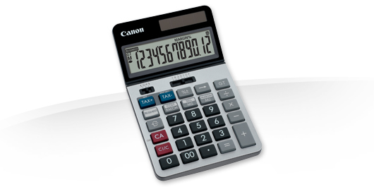 Canon KS-1220TSG calculator Desktop Black,Blue,Red,Silver
