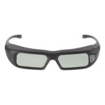 NEC NP02GL Black stereoscopic 3D glasses
