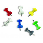 Bi-Office PI0324 pin/tack Multicolor 200 pc(s)