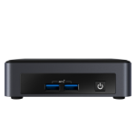 Intel NUC BKNUC8V7PNK PC/workstation barebone i7-8665U 1,9 GHz UCFF Zwart BGA 1528