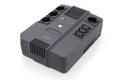 Digitus DN-170111 uninterruptible power supply UPS Line-Interactive 800 VA 480 W 7 AC outlets