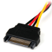 StarTech.com 6in SATA to LP4 Power Cable Adapter - F/M LP4SATAFM6IN