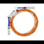 Mellanox Technologies LinkX cable infiniBanc 30 m QSFP Naranja