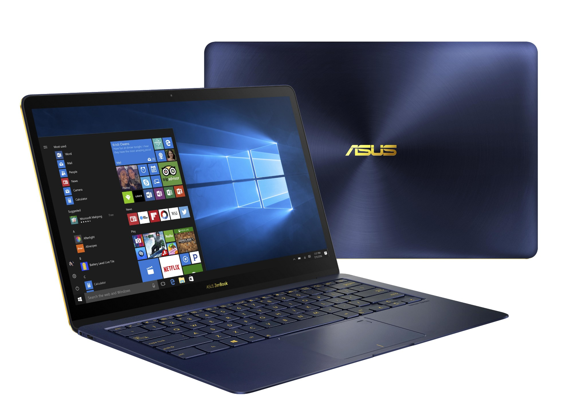 "ASUS ZenBook 3 Deluxe UX490UAR-BE088T 1.8GHz i7-8550U 14"" 1920 x 1080pixels Grey Notebook"