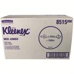 Kleenex Ultra Jumbo Toilet Tissue 625 Sheet Rolls 2-Ply 400x94mm White Ref 8515 [Pack 6]