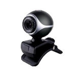 Inland 86301 0.3MP 640 x 480pixels USB 2.0 Black webcam