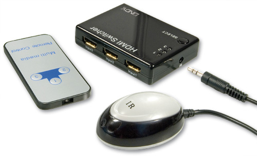Lindy 3 Port HDMI Switch