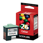 Lexmark 10N0026E (26) Printhead color, 275 pages, 14ml