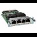 Cisco VWIC3-4MFT-T1/E1= voice network module