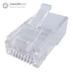 CONNEkT Gear RJ45 CAT6 Crimp End Plugs - Pack of 10