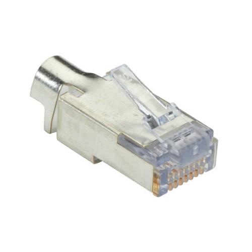 Black Box C6EZSP-25PAK wire connector EZ-RJ-45 Silver