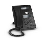Snom D745 IP phone Black Wired handset