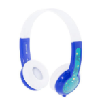 onanoff BuddyPhones Explore Head-band Binaural Wired Blue, White mobile headset