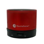 TechZone TZ15SPBT-R Mono Negro, Rojo altavoz portátil