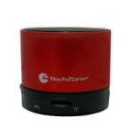 TechZone TZ15SPBT-R Mono Negro, Rojo altavoz portátil dir
