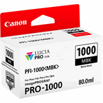 Canon 0545C001 (PFI-1000 MBK) Ink cartridge black matt, 80ml