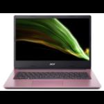 """Acer Aspire 1 A114-33-C0YQ Notebook 35.6 cm (14"""") 1920 x 1080 pixels Intel® Celeron® N 4 GB DDR4-SDRAM 64 GB Flash Wi-Fi 5 (802.11ac) Windows 10 Home S Pink"""