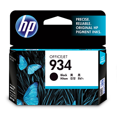 HP 934 Black Original Ink Cartridge Black ink cartridge
