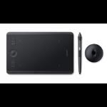 Wacom Intuos Pro (S) tableta digitalizadora 5080 líneas por pulgada 160 x 100 mm USB/Bluetooth Negro
