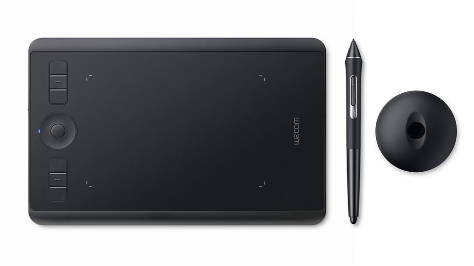 Wacom Intuos Pro (S) graphic tablet 5080 lpi 160 x 100 mm USB/Bluetooth Black